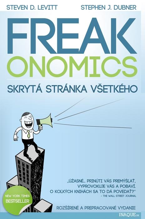 Slovenské vydanie bestselleru Freakonomics